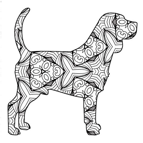 printable geometric animal coloring pages