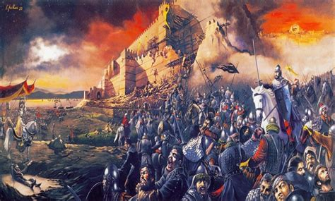 the siege of constantinople facing islam the fall of constantinople 29 may 1453