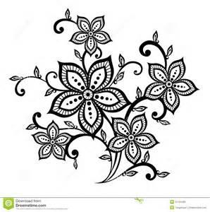 butterfly flower elemento blanco y negro hermoso diseño estado