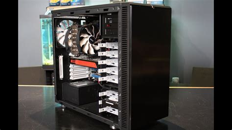 fractal design define  review thetechsourcetv youtube