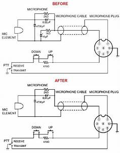 Icom Microphone Wiring Diagram : simple modification of the hm 36 microphone from icom ~ A.2002-acura-tl-radio.info Haus und Dekorationen