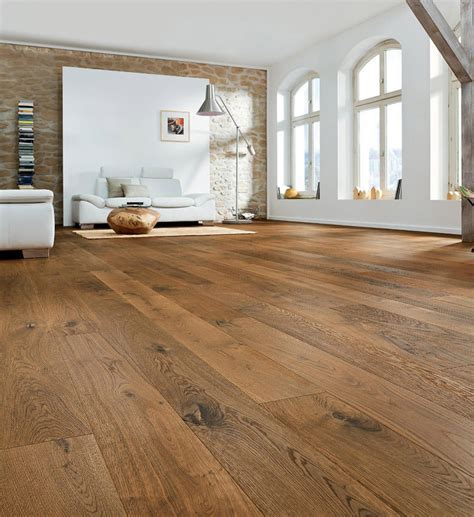 HARO PARQUET 4000 Plank 1 Strip 4V Smoked Oak Sauvage