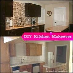 kitchen cabinet makeover kit bathroom cabinets painted with rustoleum cabinet 5579