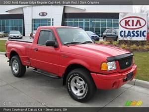 4x4 Ford Edge : bright red 2002 ford ranger edge regular cab 4x4 dark graphite interior ~ Farleysfitness.com Idées de Décoration