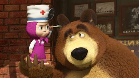 Bilder Mascha und der Bär Zeichentrickfilm