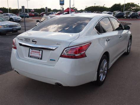 2013 White Nissan Altima  Sedans Theeaglecom
