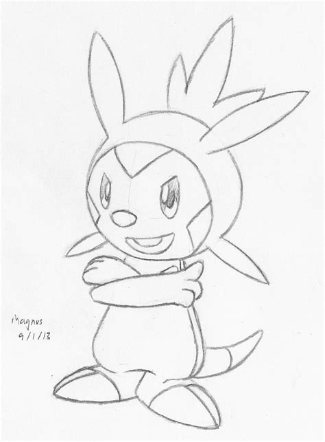 Froakie Kleurplaat by Froakie Coloring Pages Sketch Coloring Page