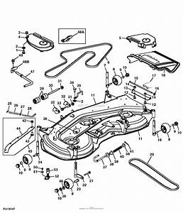 John Deere Js63 Push Mower Parts Diagram