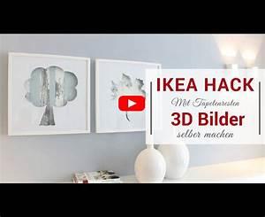 Ikea Bilder Aufhängen : ikea hack 3d bilder mit tapetenresten im ribba bilderrahmen ~ Eleganceandgraceweddings.com Haus und Dekorationen