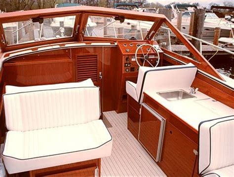 Wooden Boat Interiors by The Skiff Craft Annual Wooden Boat Open House Is This