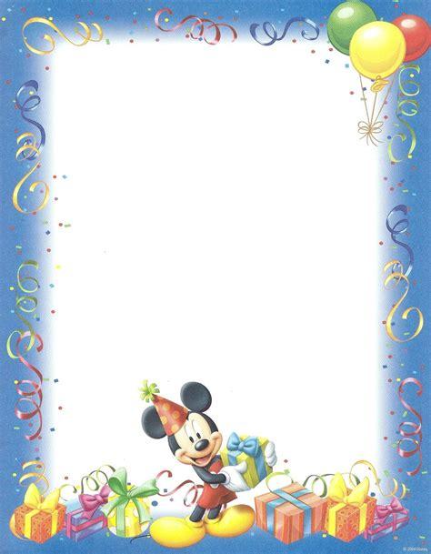 briefpapier birthday mickey mouse gartner doreens