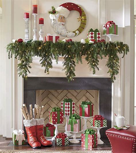 decorate  christmas mantel updated traditional