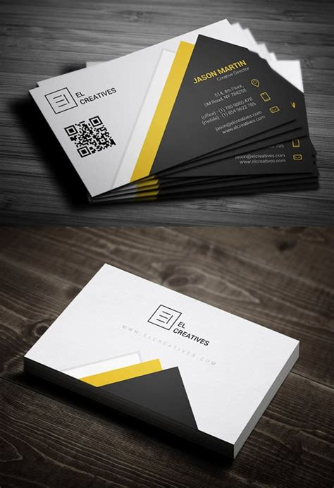 professional business card templates print ready