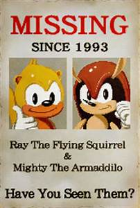Image - MightyRayHiRes.png | Sonic News Network | FANDOM ...