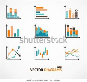Infographic Set Elements Graph Charts Diagrams Stock