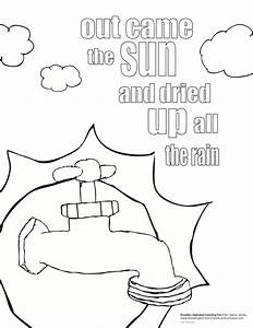 Free coloring pages of incy wincy