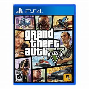Rockstar Games Grand Theft Auto V for PlayStation 4 (PS4)