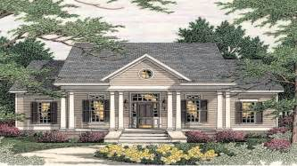 Southern Style Home Floor Plans by Small Southern Colonial House Plans Colonial Style Homes