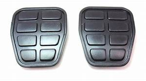 2x Genuine Vw Brake Clutch Pedal Pads Covers 93