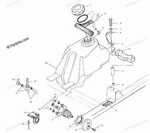 Polaris Atv 2001 Oem Parts Diagram For Fuel Tank