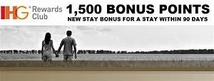 Club Total Points : ihg rewards club new stay bonus of 1 500 points for a stay within 90 days loyaltylobby ~ Medecine-chirurgie-esthetiques.com Avis de Voitures