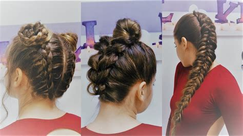 3 Peinados Con Trenzas Tumblr / Braided Hairstyles