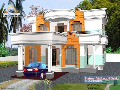 More 3d Home Walkthroughs by 4 Beautiful Home Elevation Designs In 3d