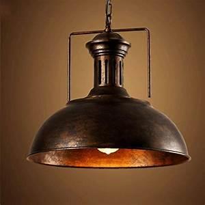 Industrial nautical barn pendant light litfad single