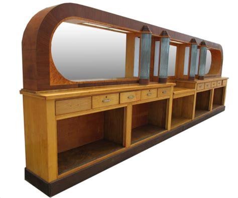 22 deco back bar wooden nickel antiques