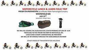 Motorcycle Ride - Lunch  U0026 Learn - July 25th 2019