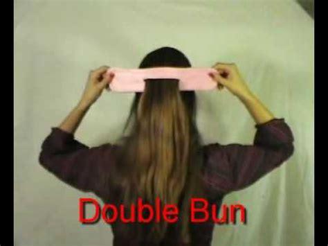 ez hair bun  english double bun roll  bun twist  bun  bun bun twisters youtube