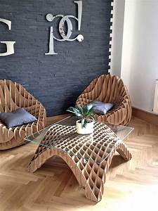 Unique, Furniture, Made, Of, Recycled, Cardboard, U2013, Adorable, Home