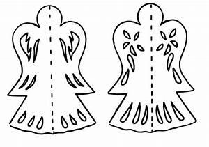 Vorlage Engel Zum Ausschneiden : fensterbilder zu weihnachten ideen mit transparentpapier ~ Lizthompson.info Haus und Dekorationen