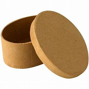 Boite En Carton À Décorer : bo te en carton ovale 9 cm boite en carton d corer creavea ~ Melissatoandfro.com Idées de Décoration