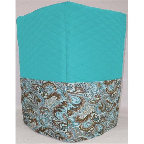Shop for coffee & espresso makers in kitchen appliances. Quilted Brown & Teal Paisley Coffee Maker Cover by Penny's Needful Things (Aqua Blue) - Walmart ...