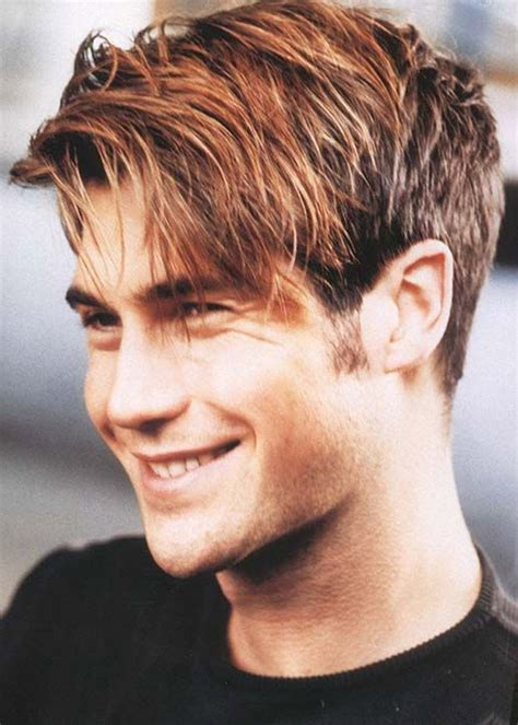 mens medium hairstyles short sides pictures