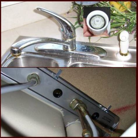 loss of water pressure in kitchen sink loss of pressure for kitchen sink sprayer 9889