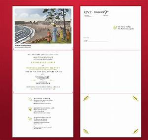 Tri fold wedding invitation template 13 psd formats for Tri fold postcard wedding invitations