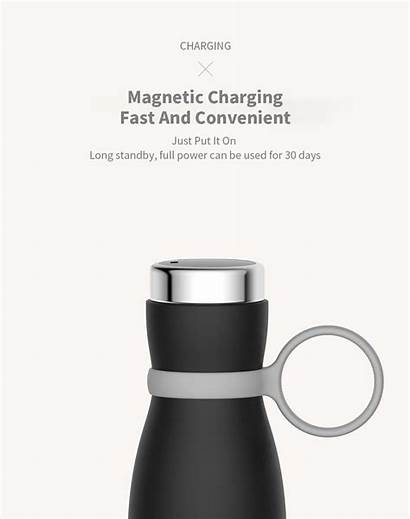 Vacuum Temp Smart Magnetic Fask 3life 400ml