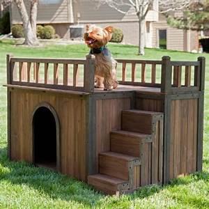 hundehaus designs aus denen sie inspiration schopfen konnen With französischer balkon mit garten einzäunen hund