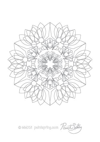 printable abstract adult coloring book    pages