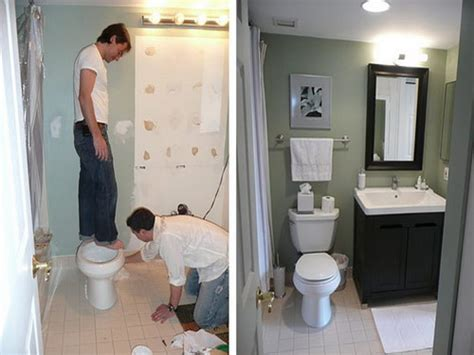 small bathroom remodels before and after photo 9