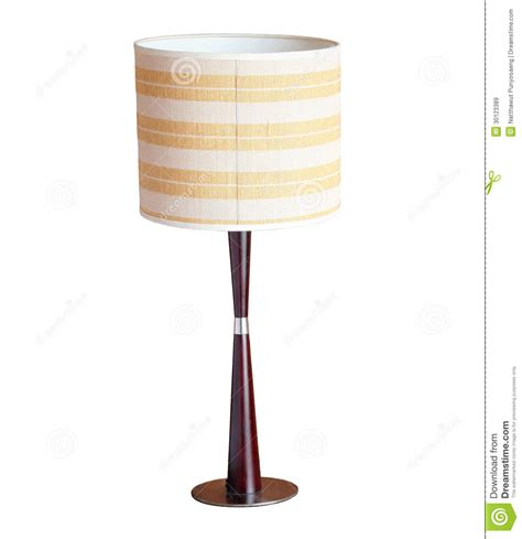 table lamp isolated  white royalty  stock images