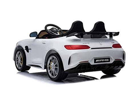 More mercedes electric cars are certain to follow the eqc's lead. First Drive Mercedes Benz GTR White 2 Seater - 12v Kids Cars - Dual Motor Electric Power Ride On ...