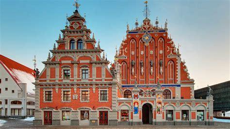 Riga - the capital of Latvia I Riga old town and main ...