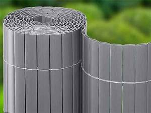 Balkon Sichtschutz Kunststoff Meterware : pvc blickschutzmatten als rolle aluminium silber ~ Bigdaddyawards.com Haus und Dekorationen