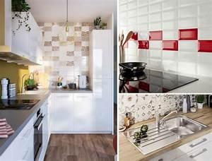 Revêtement Mural Cuisine : choisir un rev tement mural pour la cuisine castorama ~ Farleysfitness.com Idées de Décoration