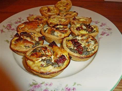 fingerfood rezepte kalt einfach schnell fingerfood quiches in 2 variationen monikakao chefkoch