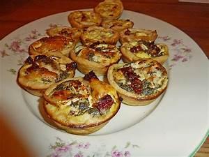 Fingerfood Rezepte Schnell Und Einfach : fingerfood quiches in 2 variationen rezept mit bild ~ Articles-book.com Haus und Dekorationen