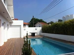 construction dune piscine avec amenagements a biarritz With hotel a biarritz avec piscine interieure